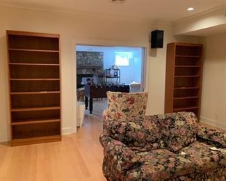 TWO MATCHING BOOKCASES. $150 EACH OR PAIR FOR $275.00
