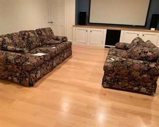 PERFECT CONDITION SOFA AND LOVESEAT $295.00 PAIR
