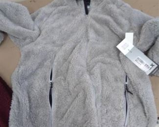 MSX Michael Strahan NEW Hooded Zip up Jacket Sz XL