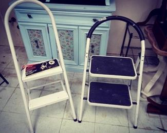 Two Step Stepstools. X 2