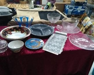 Lot of Bowls and Serving Dishes
