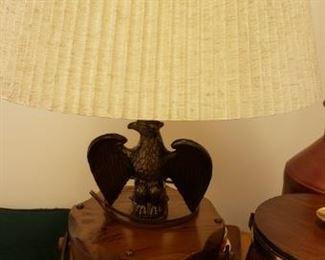 Colonial Eagle Lamp