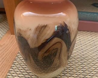 Swedish Art Glass Mid Century Vases - Kosta  Boda-$60