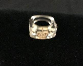 Lucite Ring -$20