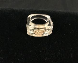 "1950""s Lucite Ring"