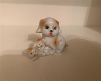 Made in Japan Porcelain Dogs