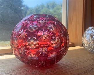 Ruby Flash Crystal Base-$20