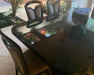 Black Laquer Table