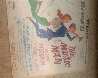 Broadway musical vinyl