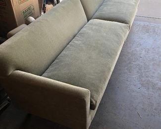 Dunbar Mohair sofa-Rare splits in two Ed Bromley
