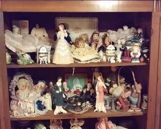 Figurines, Dolls including Gobel