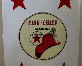 Texaco Fire Chief cabinet