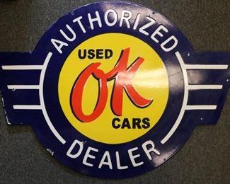 Automotive dealership sign