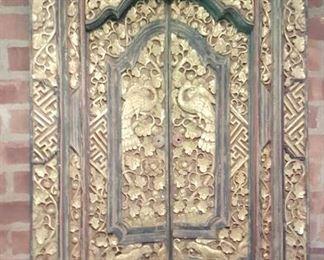 Indonesian door panel!