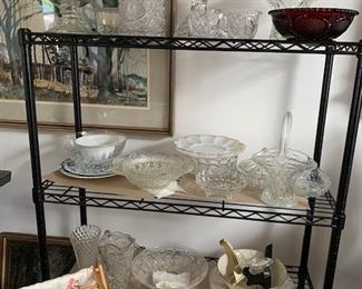 Crytal and glass collection