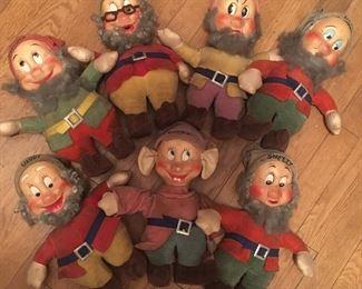 Original 1930s Seven Dwarfs