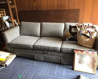 COUCH (JUST REUPHOLSTERED)