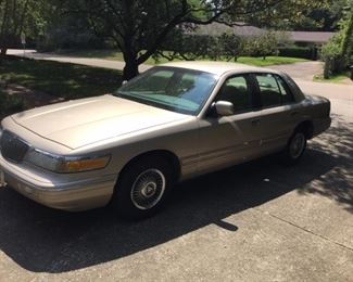 1997 Mercury Grand Marquis 83,003 miles, near perfect condition, good tires, fully loaded.  a must see.