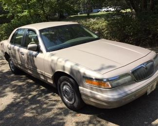1997 MERCURY GRAND MARQUIS, 83,003 ORIGINAL  MILES, LOADED , GOOD TIRES, AND EXTRA GOOD CONDITION