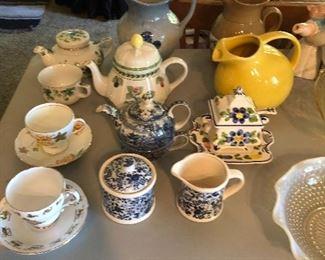 Tea Cups, Tea Pots