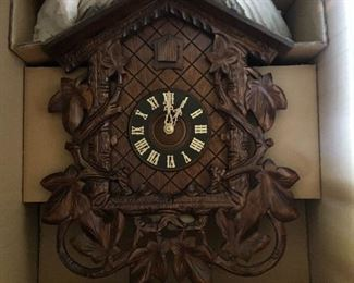 Cuckoo Clock, new in box