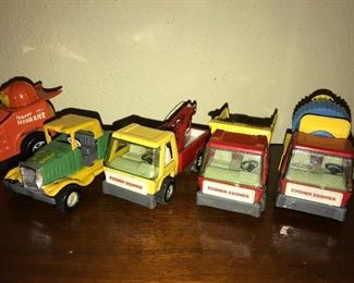Die cast toy cars