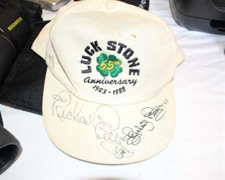 Hat signed by Richard Petty.