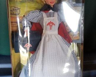 Civil War Nurse Barbie