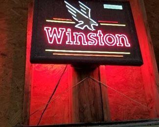 Winston Neon Sign