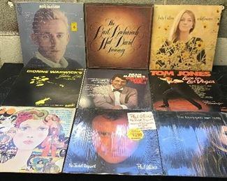 Vintage Original Vinyl Records