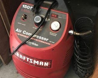 Craftsman Compressor $ 58.00
