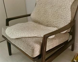 Vintage chair with new upholstery