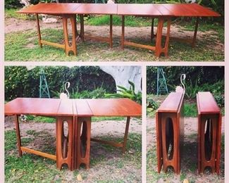 Rare, Bengt Winge tables. Mid century, set of two, modular.