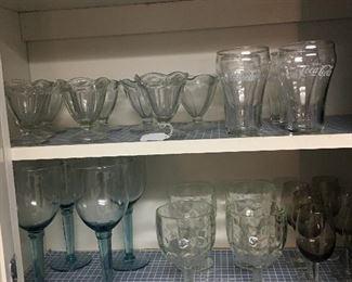 More glasses - some coke
