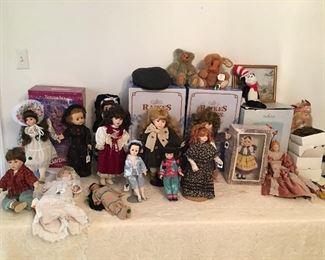 Dolls, Rakes Bears