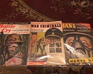 Vintage 1960s  Military Magazines