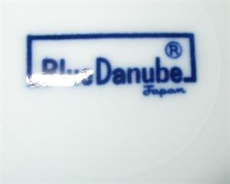 Blue Danube Japan dishes