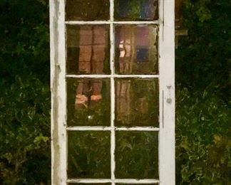 Three beautiful antique French doors