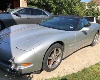 2001 Corvette - about 36k miles