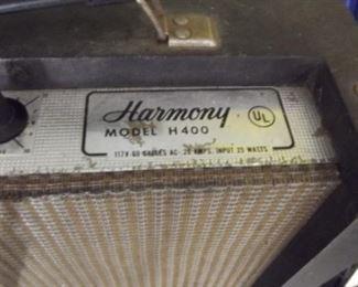 harmony model 400 amplifiers.