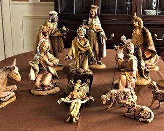 "Fontanini 12"" Nativity"