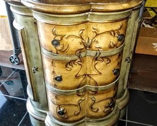 Beautiful Italian Accent Cabinet