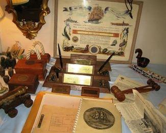 uss constitution memorabilia