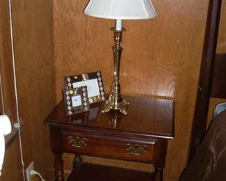 Second American Drew night stand and the other matching lamp.