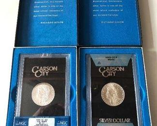 Carson City Silver Dollars