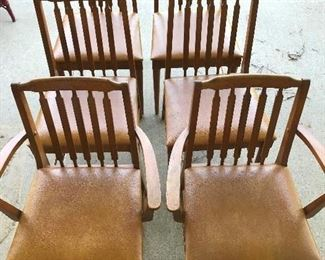 MID CENTURY         SET OF 6 CHAIRS                   MADE BY KROEHLER    DESIGNER ADRIAN PEARSALL                 $ 300.00   SET