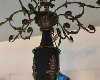 BETTER LOOK AT THE TOP OF CHANDELIER