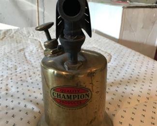 Champion brass blow torch