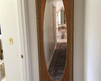 Large hall mirror