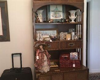 Campaigner shelf with under storage